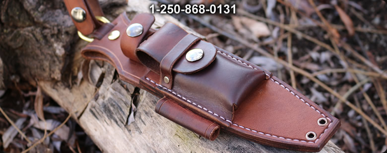 Canadian Bushcraft Leather S1 Sheath - Bushcraft Canada