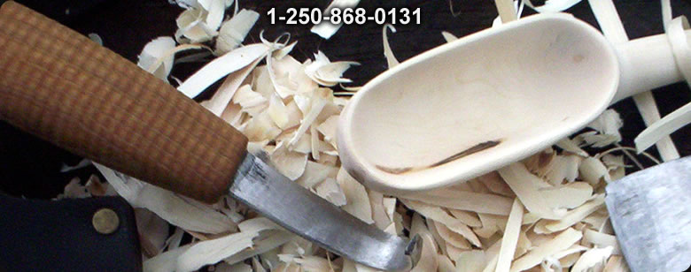 S Djarv Swedish Handmade Carving knife - Bushcraft Canada