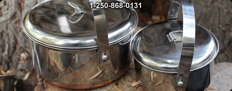 Firebox Stove Titanium NANO Accessory kit - Bushcraft Canada