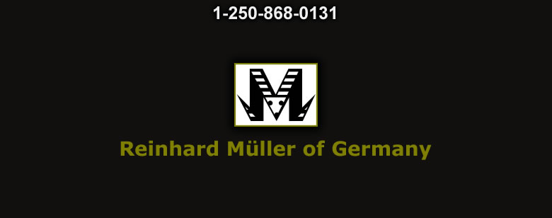 Reinhard Muller of Germany - Bushcraft Canada