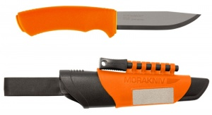 Mora Knives Bushcraft Orange Survival Heavy Duty