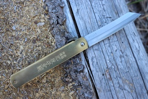 Traditional Japanese Carpenters knife Blue steel Large