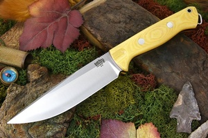 Barkriver knives Bravo Vortex Rampless Antique Ivory