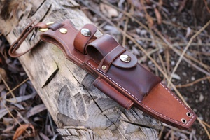 Canadian Bushcraft Leather Dangler for Fallkniven S1