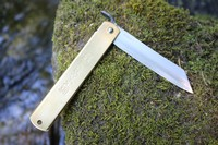 Traditional Japanese Carpenters knife Blue steel Large Photo