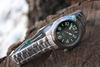 Bushcraft Watch with Stainless Steel strap