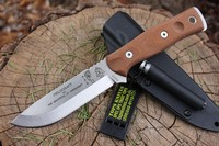 Tops BOB Bushcraft Knife Tumble finish