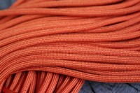 Paracord Commercial 550 INT Orange 50 ft Photo