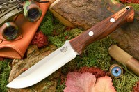 Barkriver knives Bravo 1.25 LT Cocobolo Red Liners Ramped