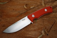 TRC Knives K1S Compact Elmax Orange G10 Photo