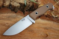 TRC Knives TR 13 Elmax Coyote G10 Stonewash Photo