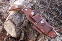 Canadian Bushcraft Leather Dangler for Fallkniven F1 and F1 PRO