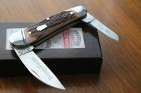 Schatt and Morgan Red Elk Whittler 1 of 150
