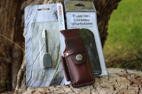 Canadian Bushcraft Leather DC4 Pouch Kit