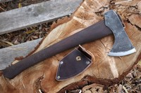 H and B Forge Bushcraft Axe and Cover Photo