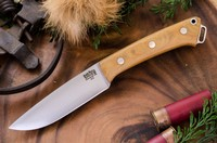 Barkriver Fox River A2 Natural Canvas Micarta