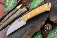 Barkriver Knives A2 TUSK Natural Canvas