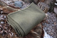 Value Wool Blanket Olive