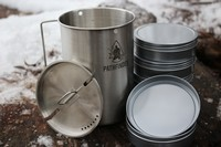 Pathfinder 48oz Cup and Lid Set with Nesting Tin Set Photo