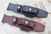 Bushcraft Leather Custom A1 PRO Sheath