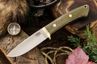 Barkriver Classic Drop Point Hunter A2 Green Canvas
