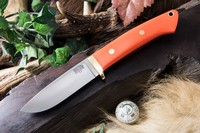 Barkriver Classic Drop Point Hunter A2 Blaze Orange G10