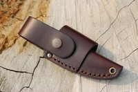 Enzo Necker Leather Belt Sheath