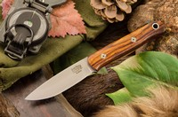 Barkriver Ultralite Bushcrafter Elmax Desert Ironwood Red Liner Mosaic #3 Photo