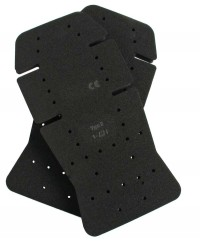 Swedish Bjornklader BLACK RUBBER Kneepads